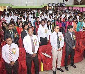 Orientation ceremony 2015